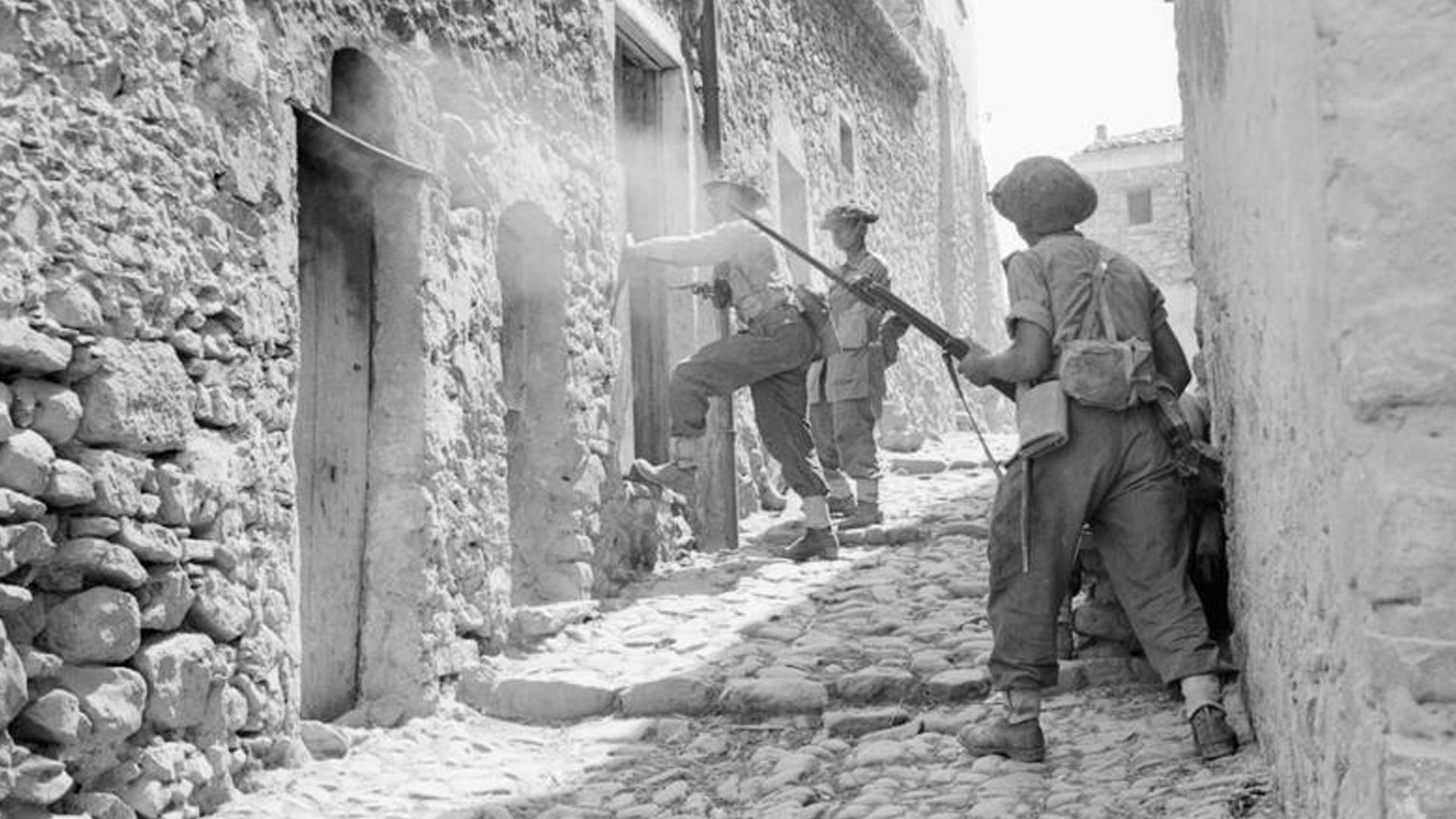 Fighting in Sicily