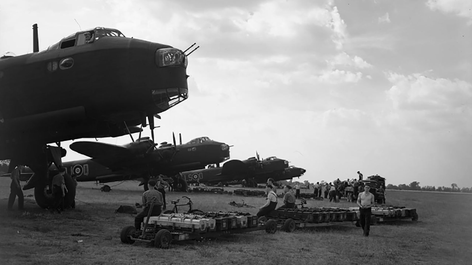 RAF 15 Squadron in Bomber Command
