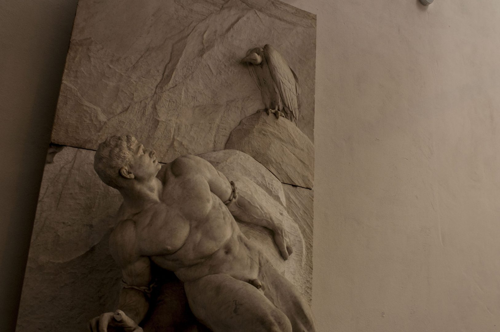 Prometheus in Berlin's Academy of Arts