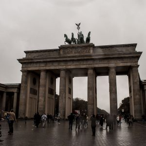 The Symbolic Brandenburg Gate