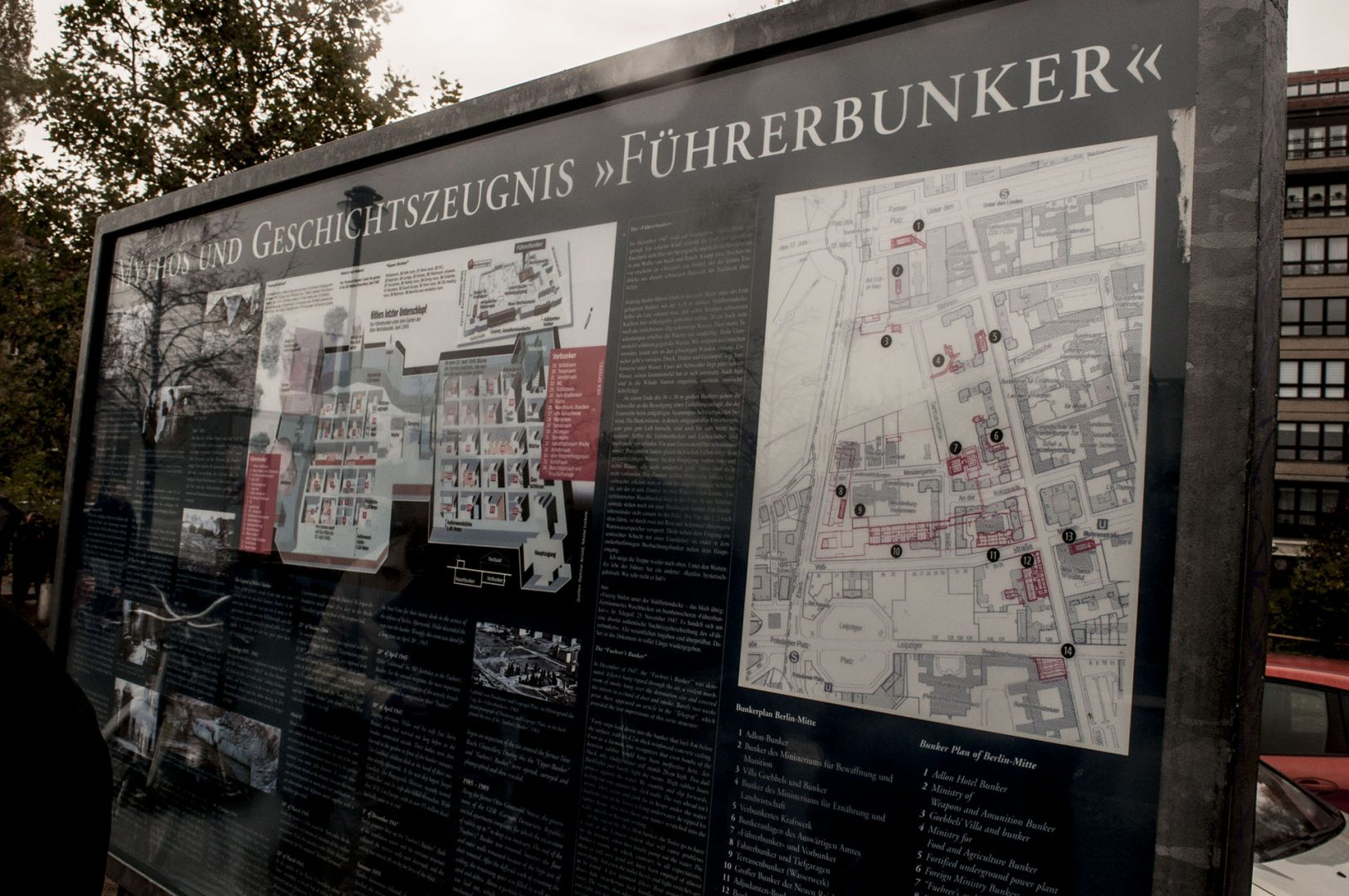 Site of Hitler's Bunker