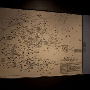 Map in the Resistance Museum