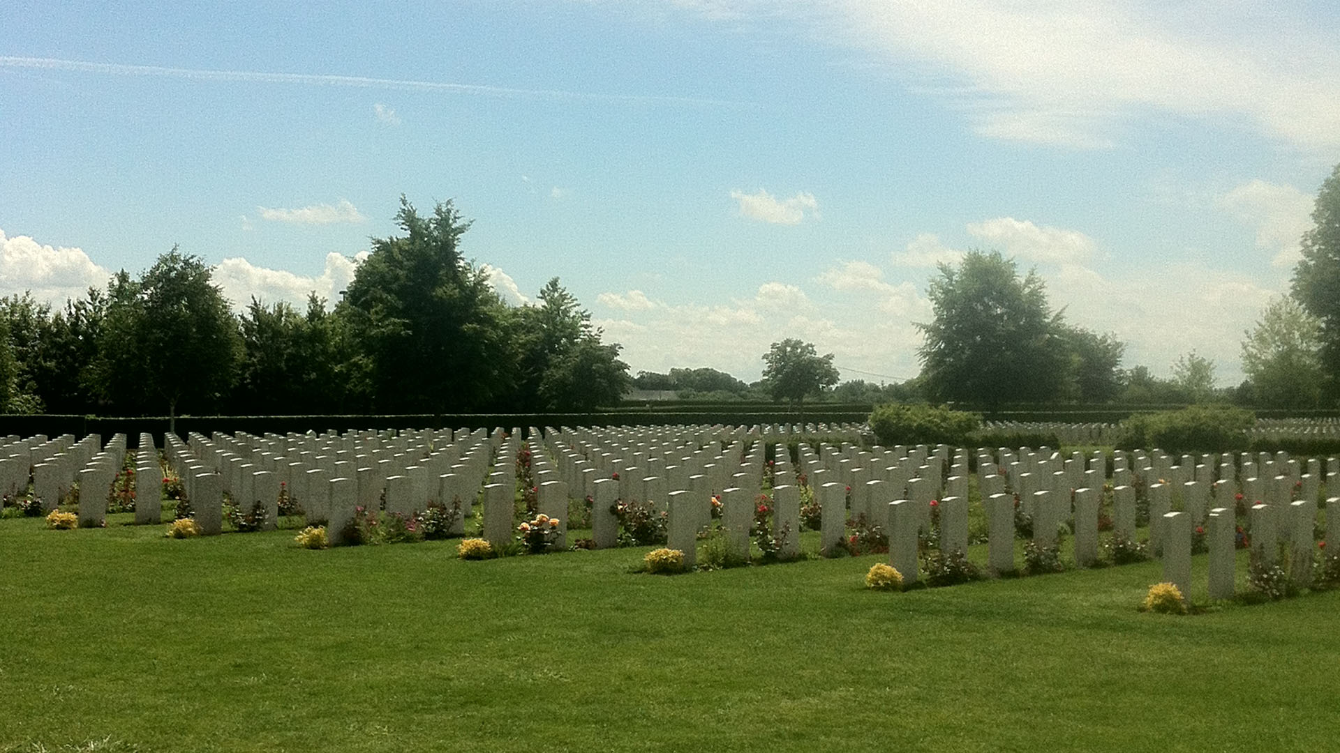 Bayeux War Cemetery in 2014