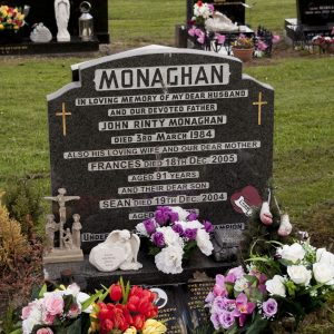 Grave of Rinty Monaghan