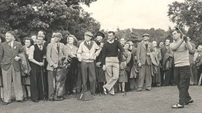 Featured image for Golf in wartime Northern Ireland
