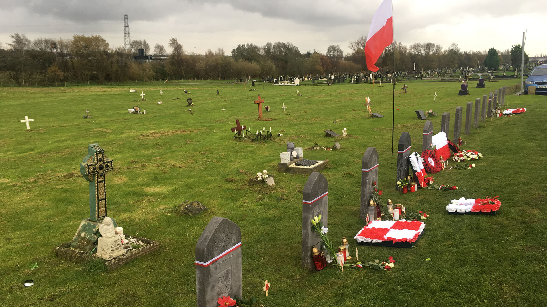 Polish Independence Day at Milltown Cemetery