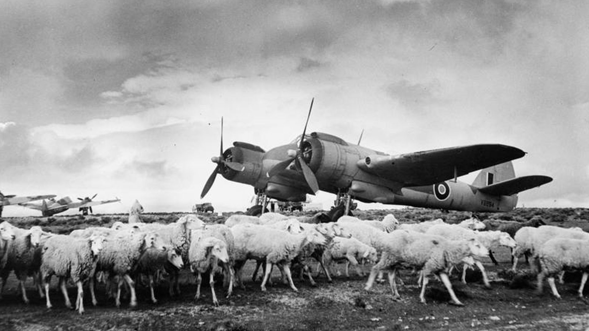 Beaufighter of RAF 153 Squadron