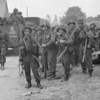 Royal Ulster Rifles in Normandy