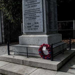 Memorial in Tandragee Square