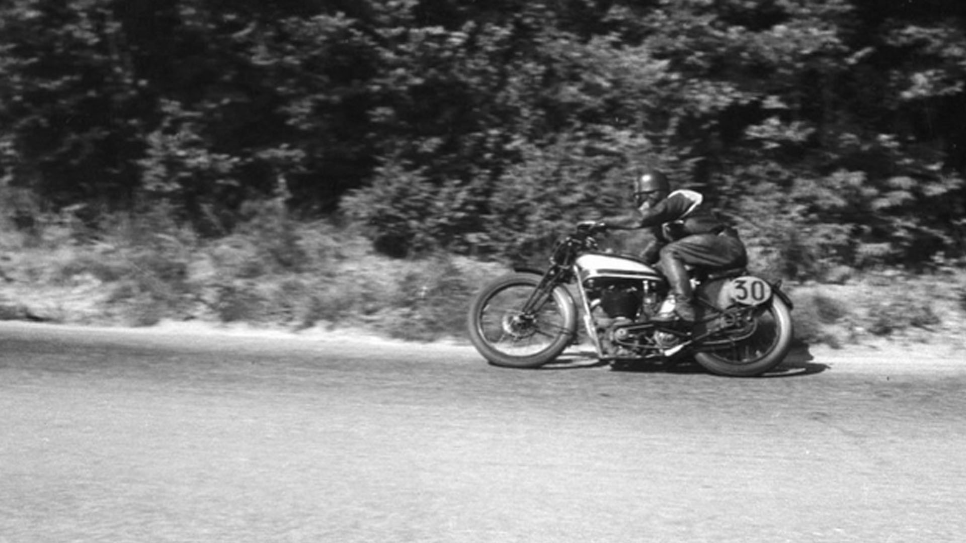 Walter Rusk at the Swiss Grand Prix