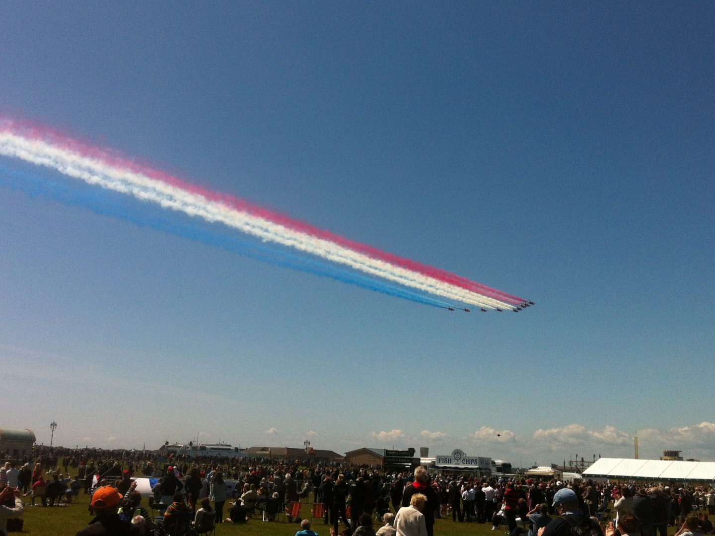 Red Arrows in Portsmouth