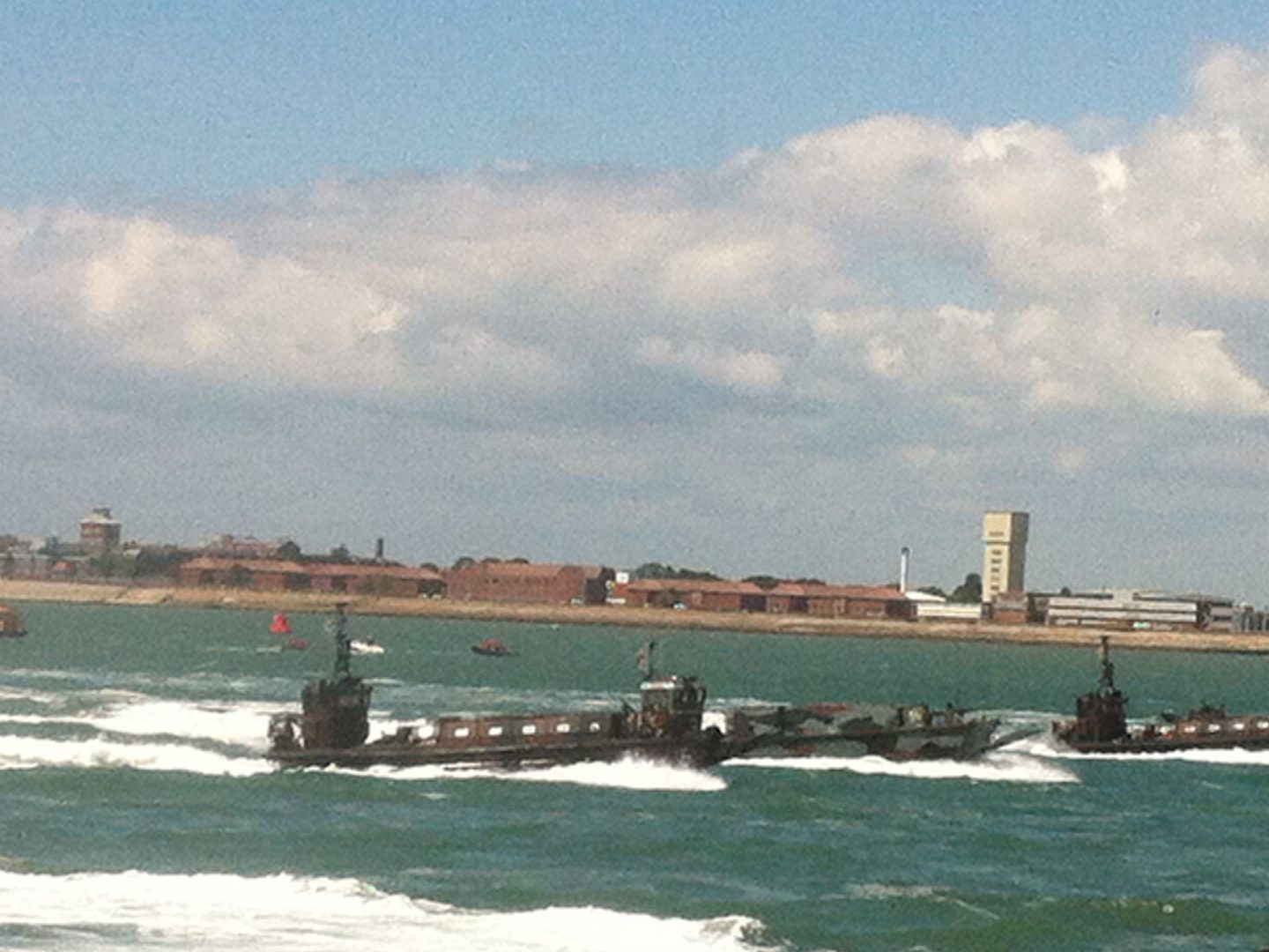 Storming the beaches of Portsmouth