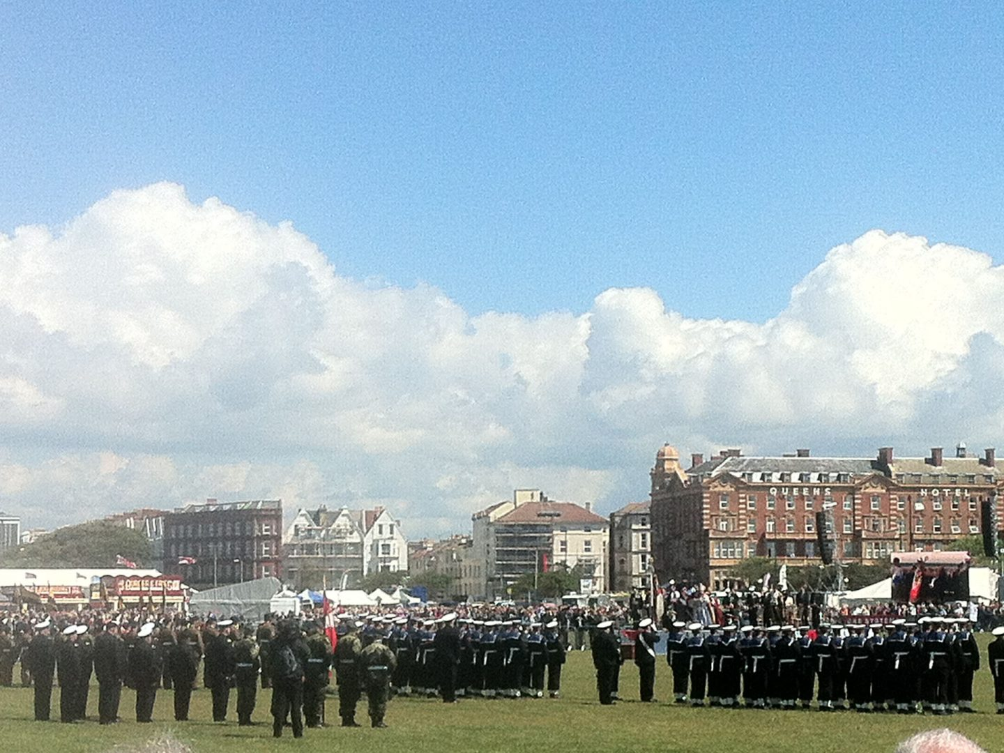 On parade in Southsea
