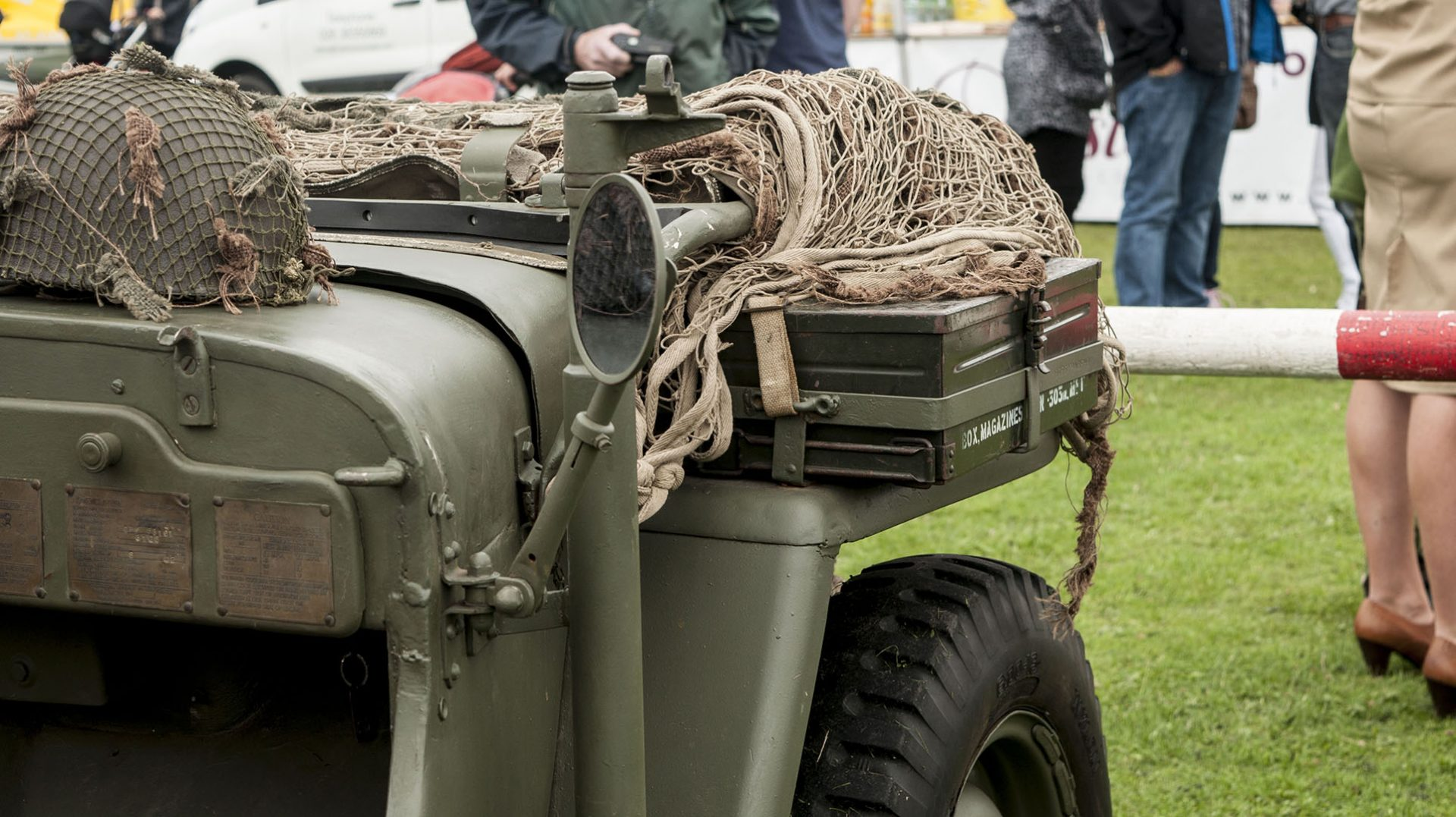 Willy's Jeep in Kilkeel