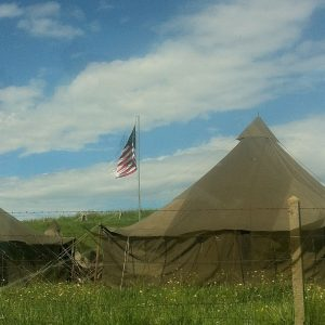 US Army Camp in Normandy