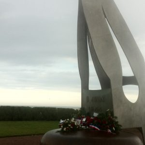 Kieffer Memorial at Sword Beach
