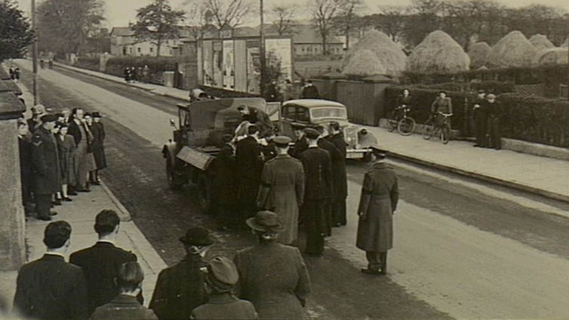 Funeral Procession in Limavady