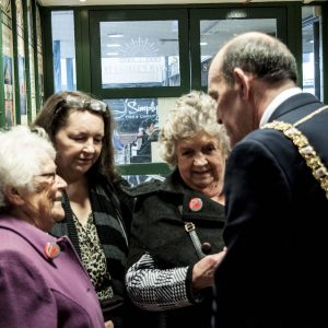 Belfast's Lord Mayor at Blitz Commemoration