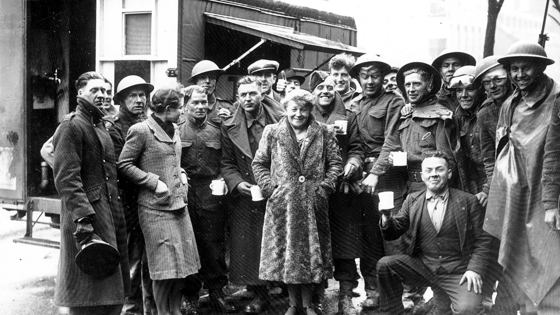 Londonderry Mobile Canteen on York Road, Belfast, Co. Antrim