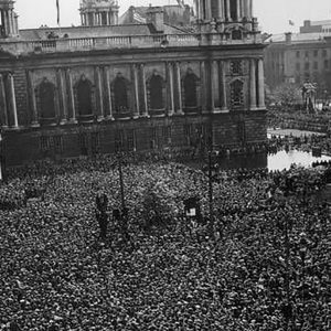 City Hall, Belfast on VE Day