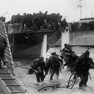 Commandos on Sword Beach