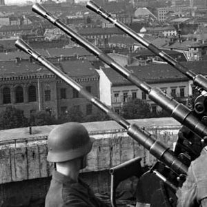 Anti-aircraft guns in Berlin
