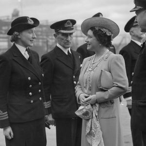 The Queen and Chief Officer Rogers