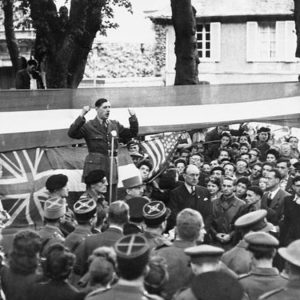 Charles de Gaulle in Bayeux
