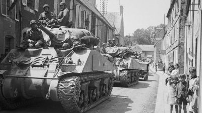 Featured image for Military Vehicles on parade, Bayeux