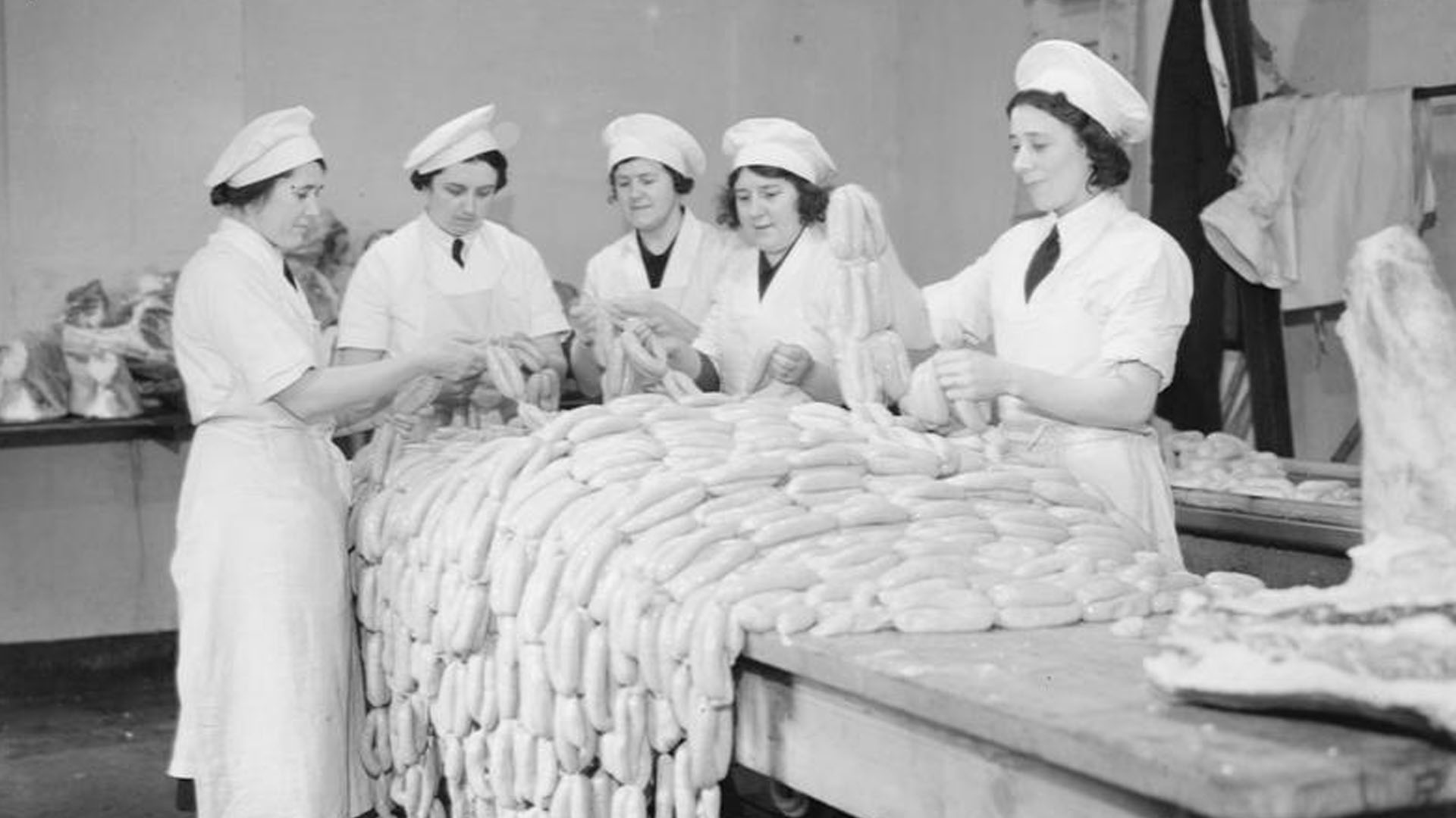 World War Two Sausages