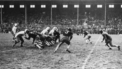American Football at Ravenhill Stadium, Belfast