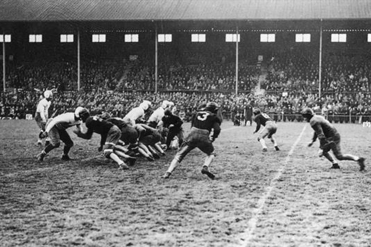 The First American Football Game In Ireland
