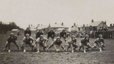 Featured image for American Football: Tech vs Yarvard at Sandy Bay Playing Fields, Larne, Co. Antrim