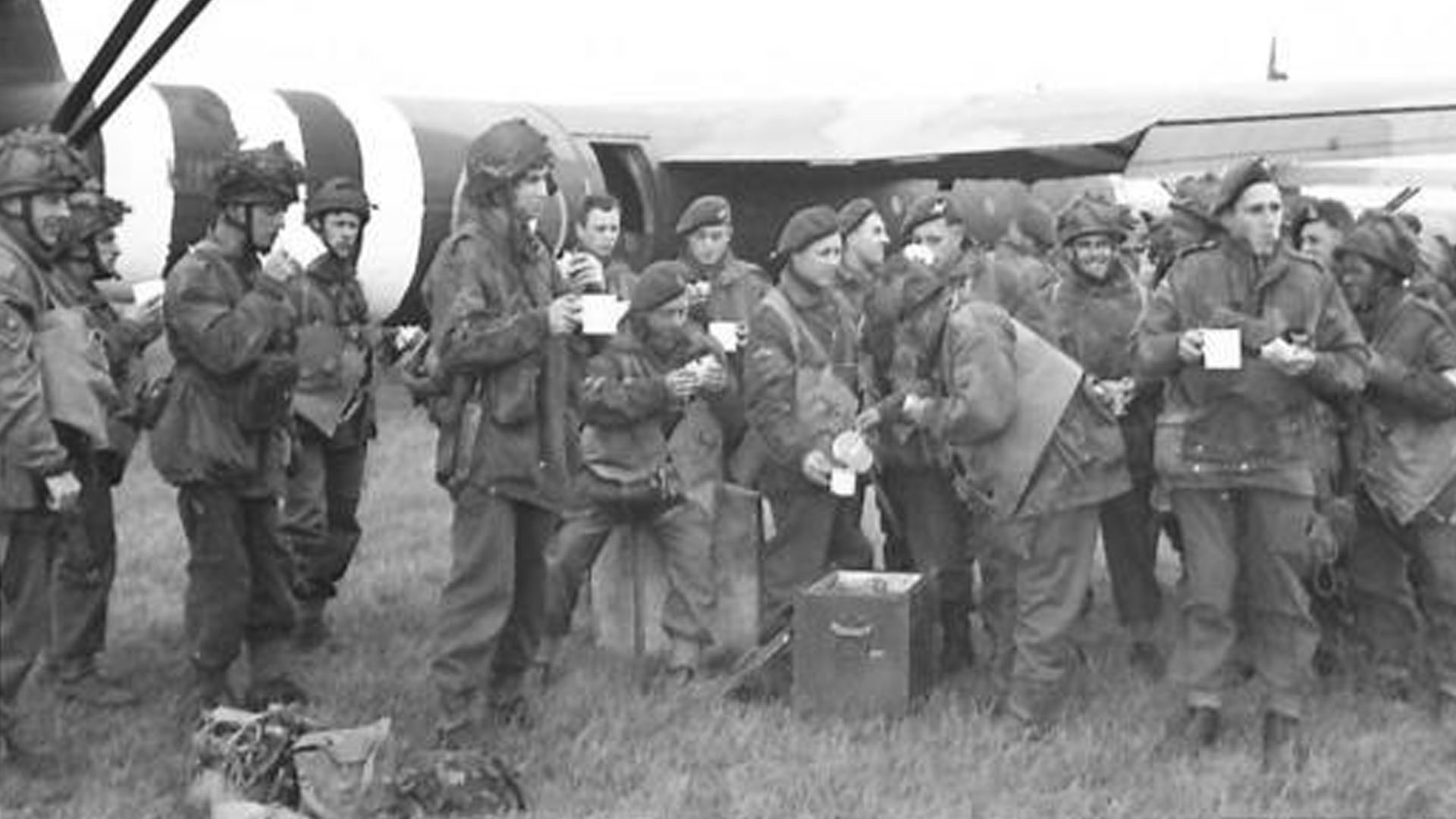 Airborne Troops prepare for Normandy