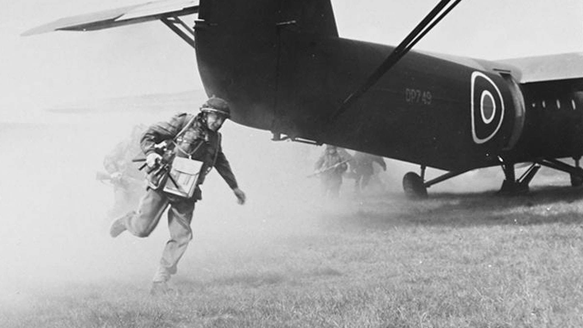 Training of Airborne Troops in the UK