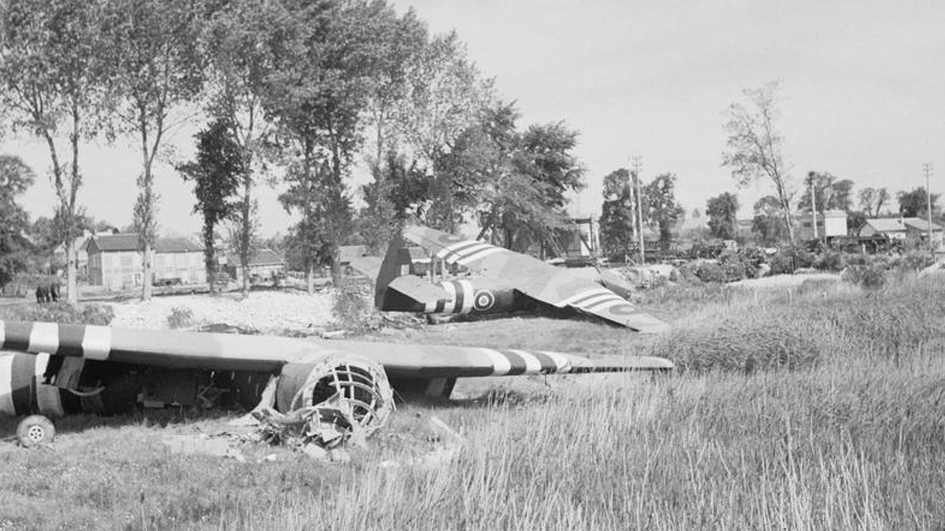 Horsa Gliders in Normandy