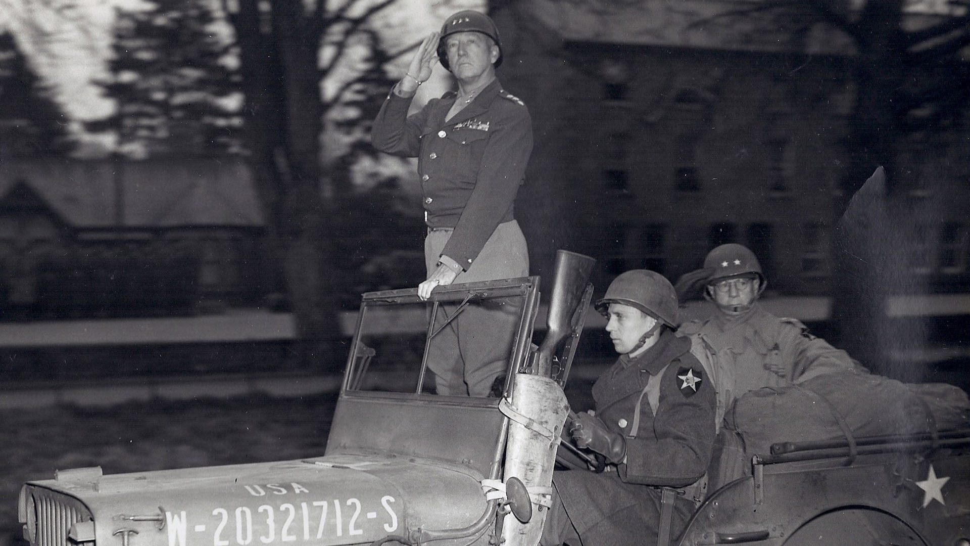 General George S Patton in Armagh