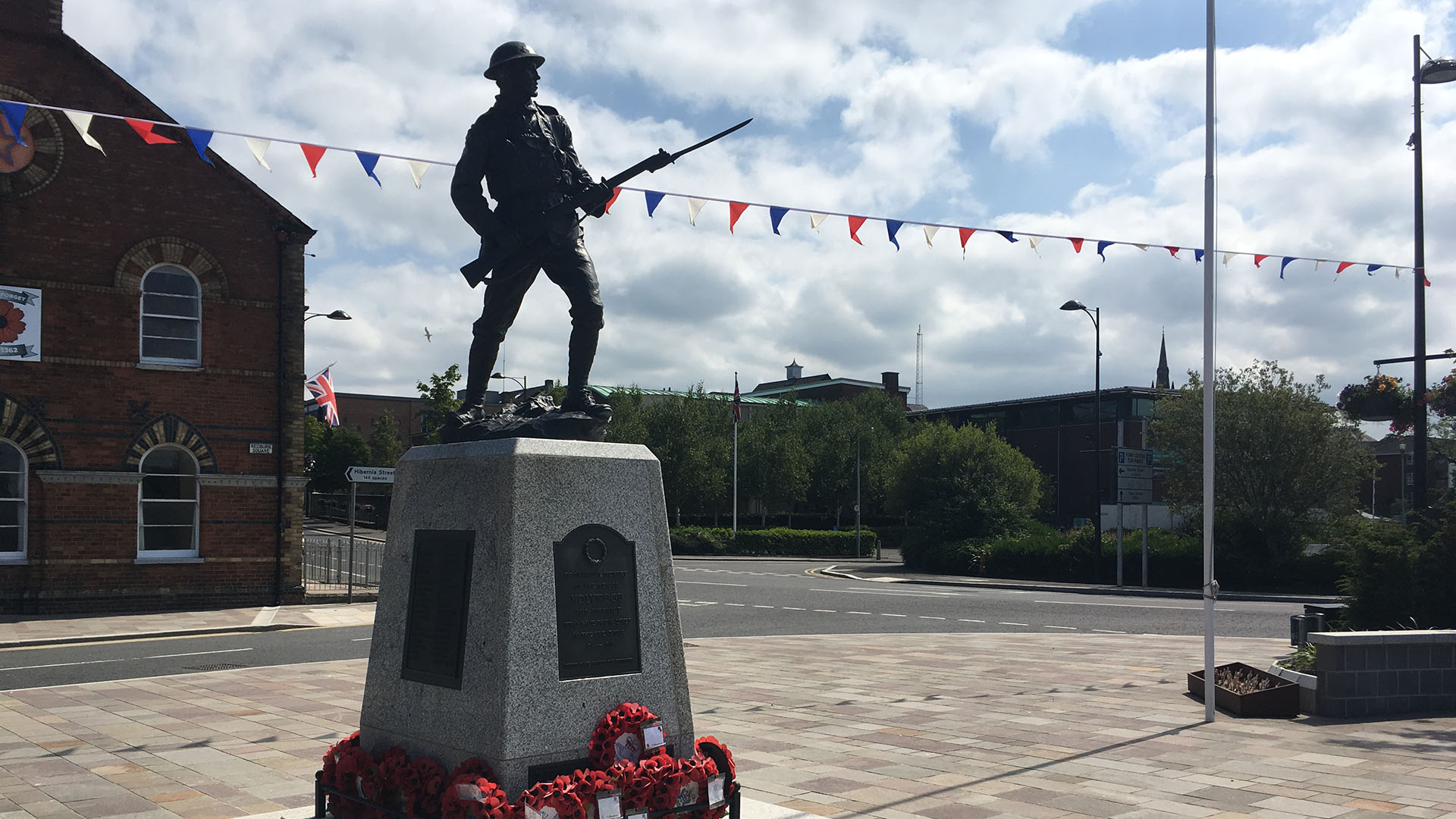 War Memorial in Holywood, Co. Down