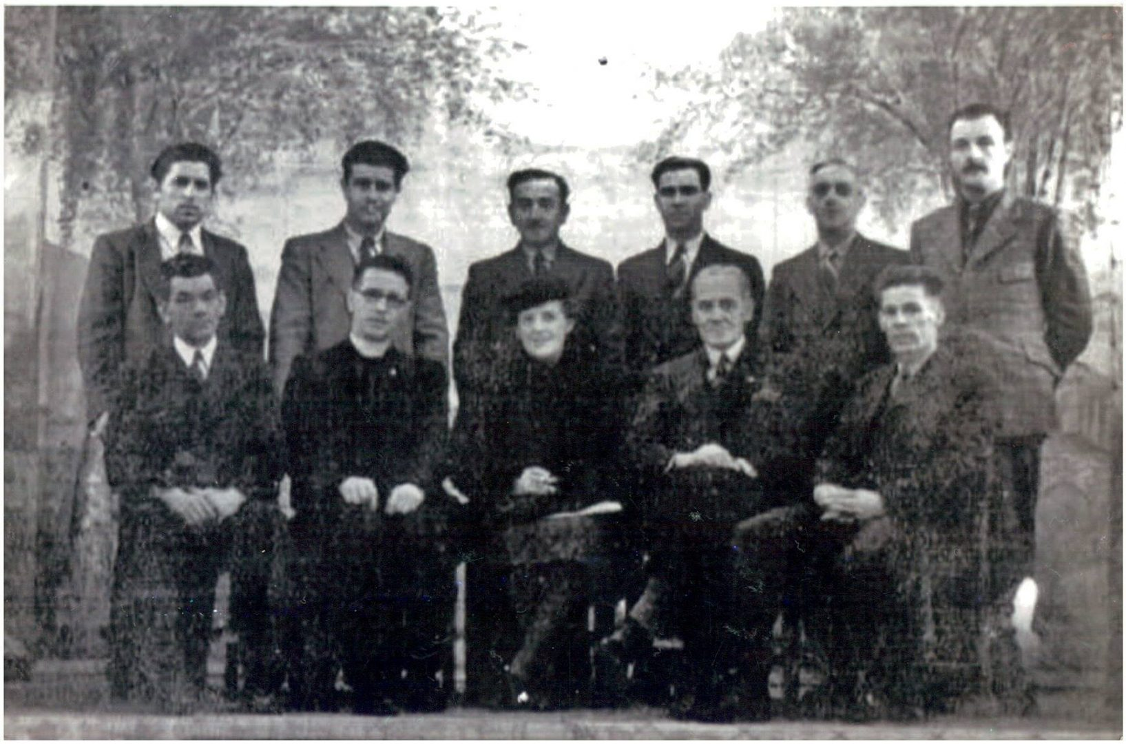 Committee at the Cargagh Camp