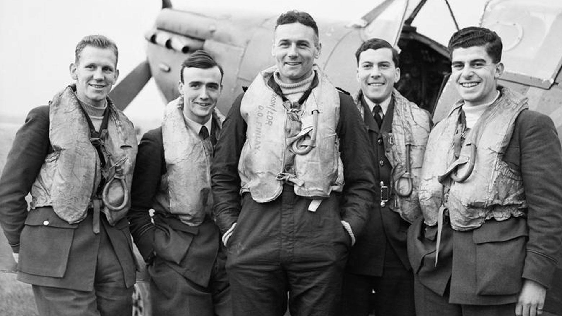 Lovell in RAF 41 Squadron