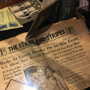 wartime-ni-brownlow-house-stars-and-stripes-newspaper