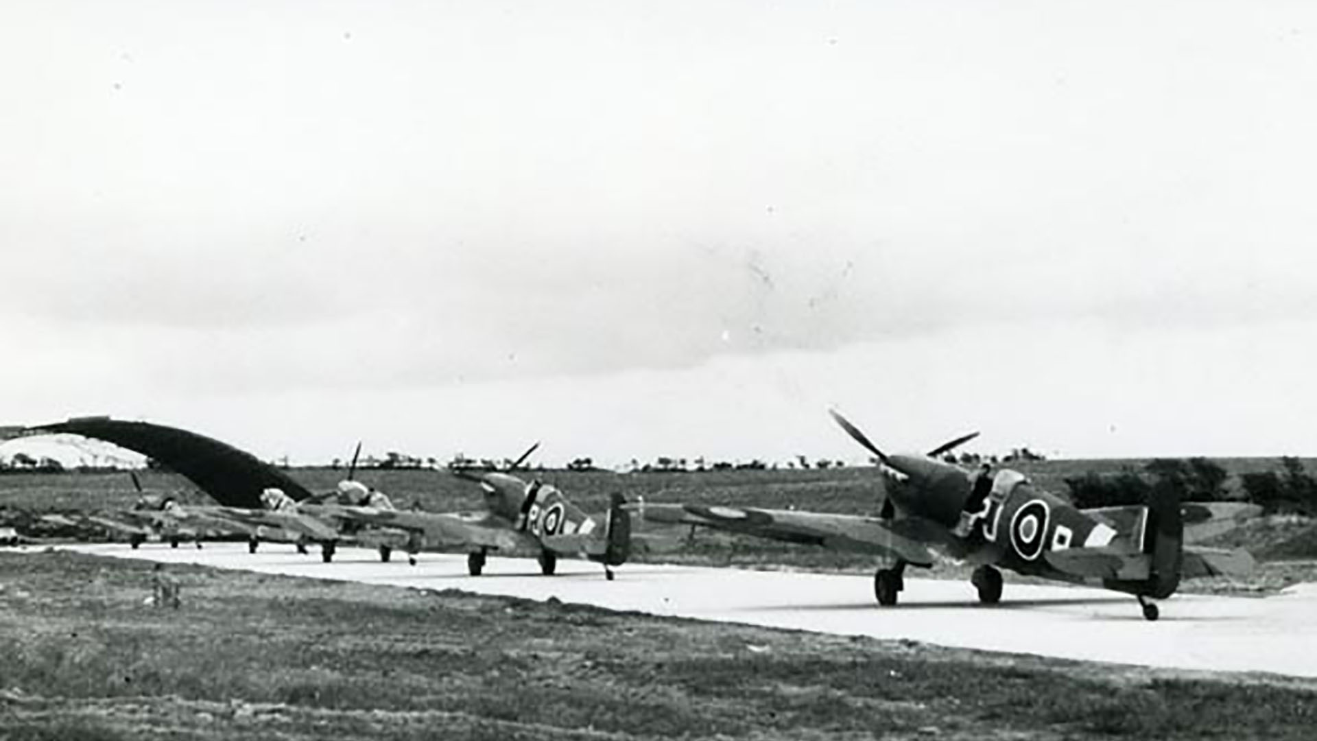 Spitfires at Ballyhalbert