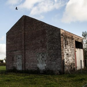 Training building at Cluntoe Airfield, Co. Tyrone