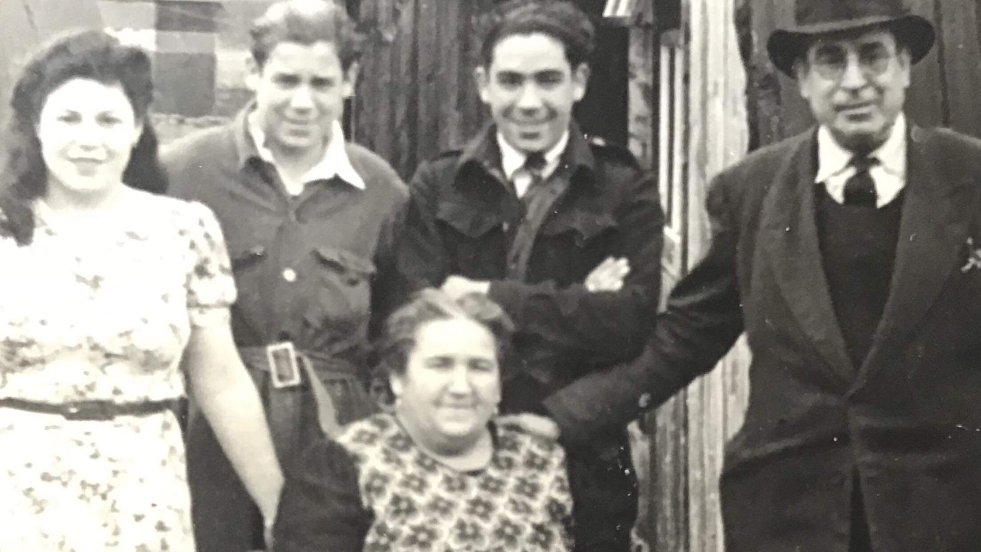Alfred Dalmedo and Family in Northern Ireland