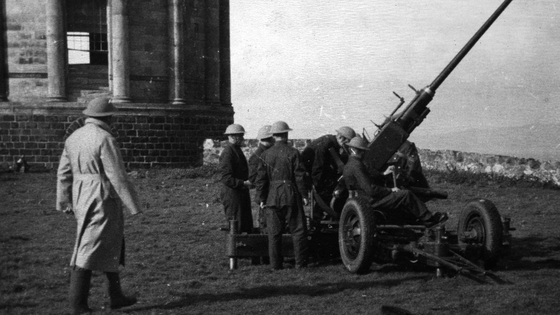 Bofors Gun at Mussenden Temple, Co. Londonderry