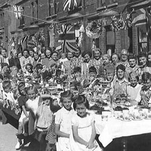 VE Day on Battenberg Street, Belfast