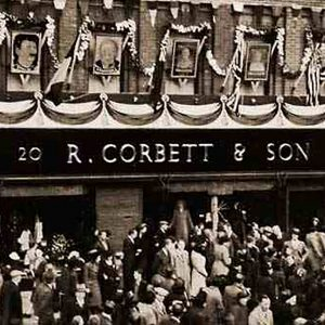 Corbett's, Portadown, Co. Armagh on VE Day