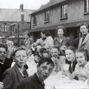 VE Day in Willowholme Crescent, Belfast, Co. Antrim