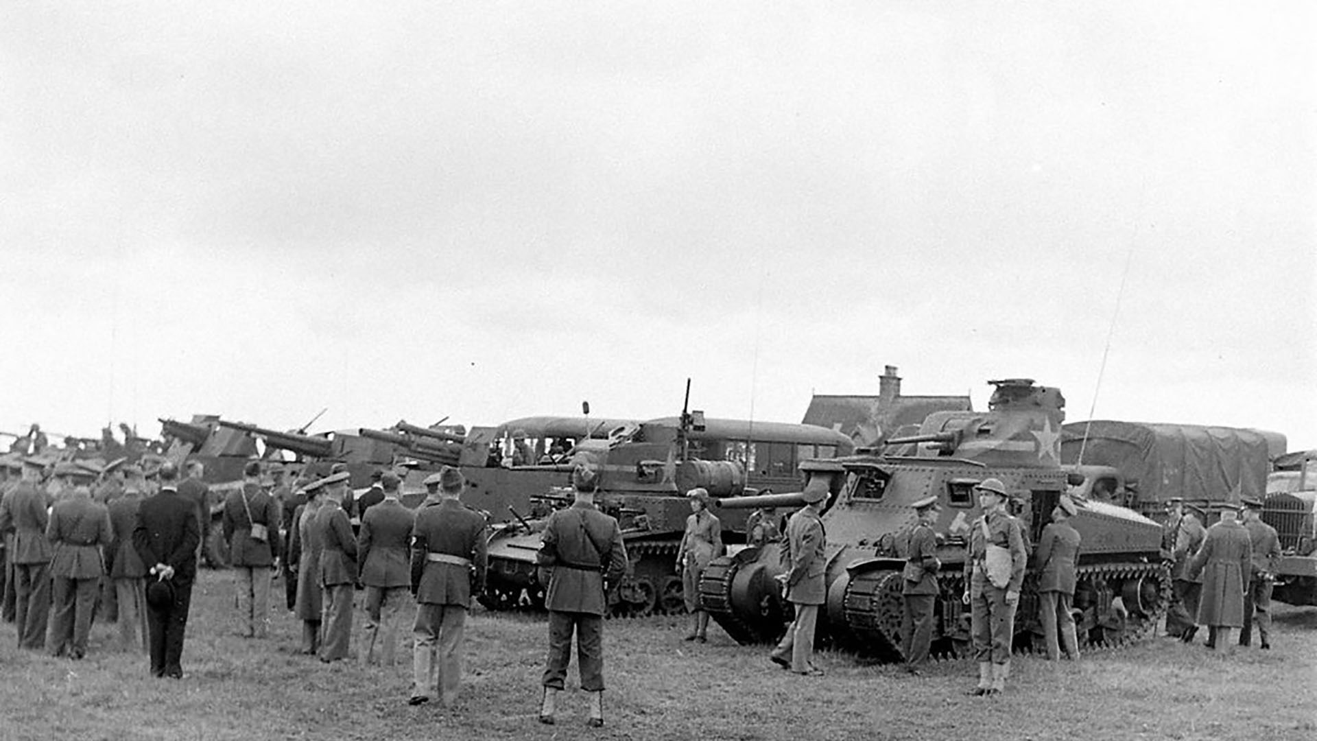 Vehicles of 1st Armored Division