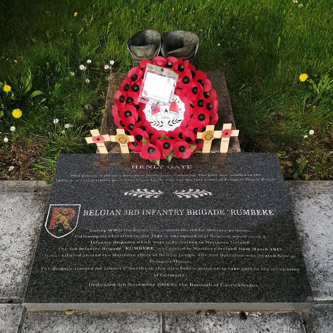 Memorial to 3rd (Rumbeke) Infantry Brigade